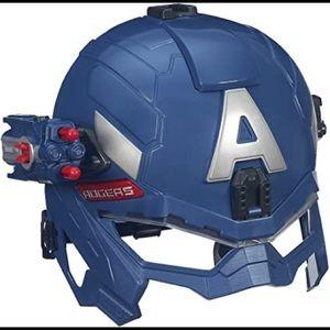 Hasbro Captain America Light Up Mask Avengers